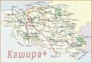 Карта Каширского района